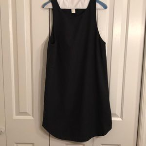H&M size 8 sleeveless black dress.